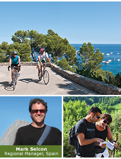 Spain biking and hiking trips